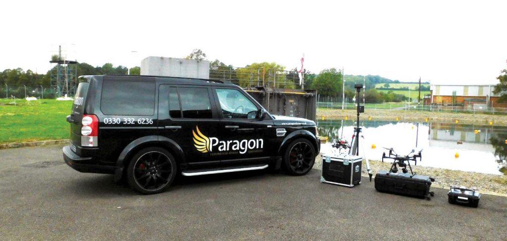 paragon drones fleet