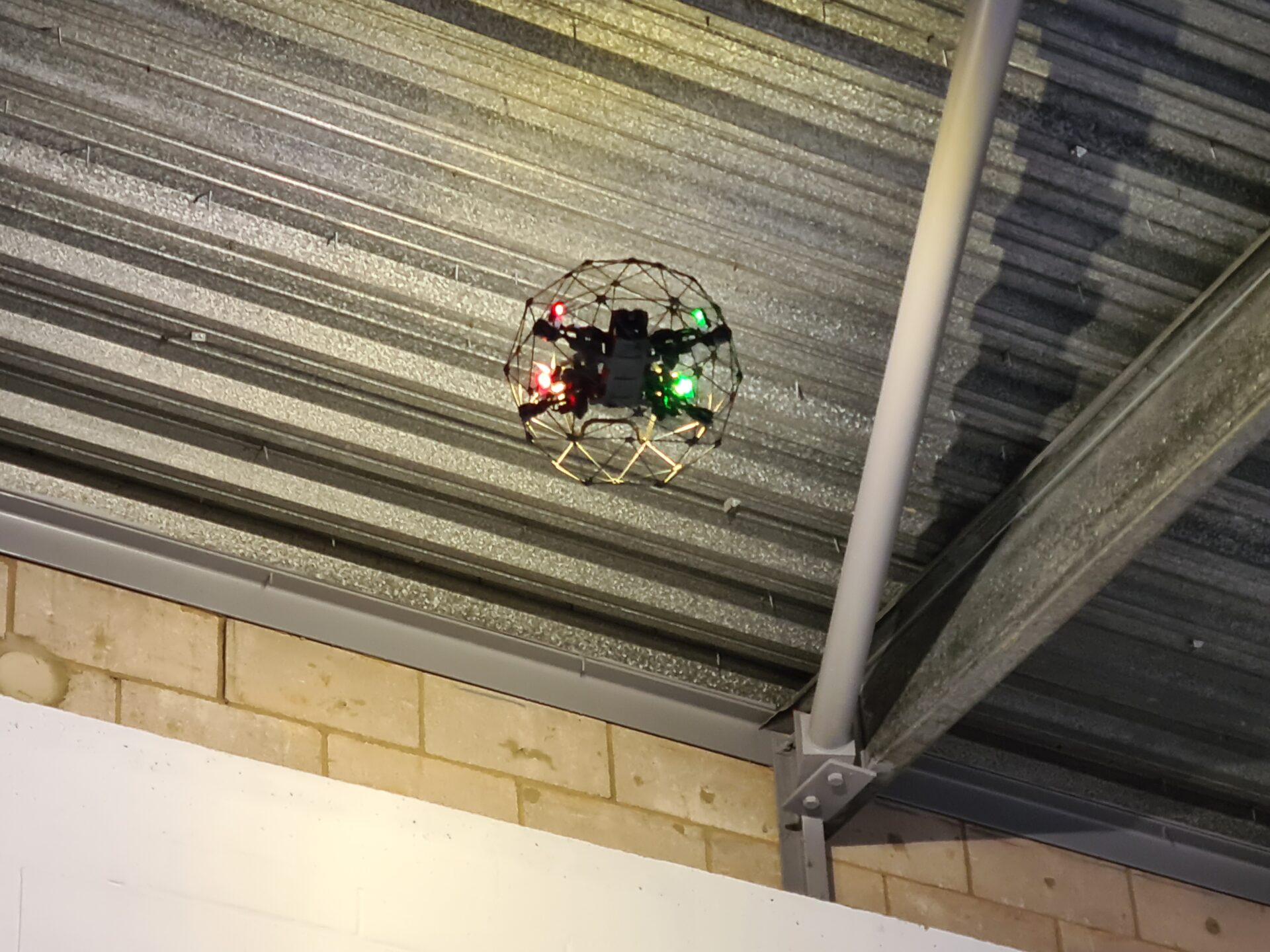 drone-industrial-roof-inspection survey